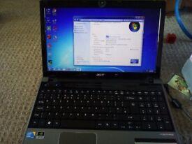 Acer 5745g notebook laptop 6GB ram