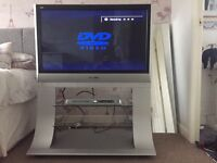 Panasonic Viera 37 inch TH-37PX60 Plasma Freeview TV + Stand + Matching DVD Player