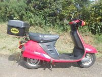 *Classic Honda moped step-through* summer-time fun with low miles