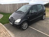 2001 Mercedes A190 with mot until FEB 2017 **spares or repairs **