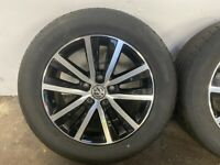Genuine Volkswagen Cascavel wheels