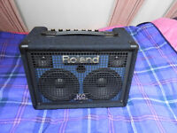 Roland KC 110 Stereo Keyboard Amplifier – Mains or Battery powered