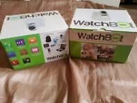 Watchbot IP wireless cameras NEW in black