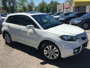 2010 Acura RDX Tech Pkg/NAVI/BACKUPCAMERA/LEATHER/ROOF/ALLOYS