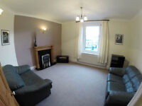 Furnished, two-bed first floor flat, Easy access to M65 motorway.