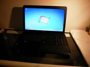 Used Toshiba C650D Laptop with Webcam and Wireless for Sale