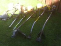 PETROL STRIMMERS ALSO PARTS OFFERS FOR LOT OR WILL SPLIT