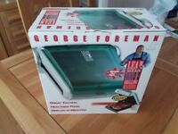 Brand new George Foreman grill, still in the box, never been used