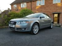 Audi A4 lovely condition, full Audi service history and low mileage.