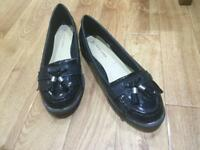 New look girls loafers