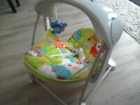 Fisher Price Take -Along Swing and Seat
