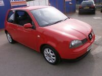 2004 SEAT AROSA 1.0 S 3DOOR HATCHBACK, FULL SERVICE HISTORY, CLEAN CAR, DRIVES LIKE NEW, HPI CLEAR