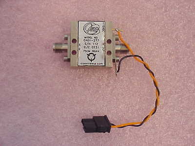 New Ciao Ca01-277 Rf Amplifier 300-600mhz 16db Gain Sma