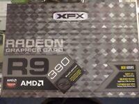 XFX Radeon R9-390P-8DB6 DD Black Edition AMD 8 GB Graphics Card Brand NEW