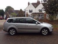 FORD FOCUS 2.0 TDCI DIESEL ESTATE 2006 MOT JUNE 2018 SERVICE HISTORY-ALLOYS AIR CON CD PLAYER