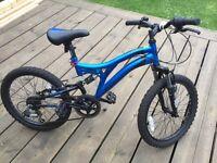 Kids muddy fox mountain bike