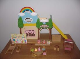 Sylvanian Familes Rainbow nursery - nursery school with lots of accessories