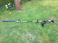 Cobra Long reach Petrol Hedgetrimmer (LRH26C), Brand new/Excellent condition