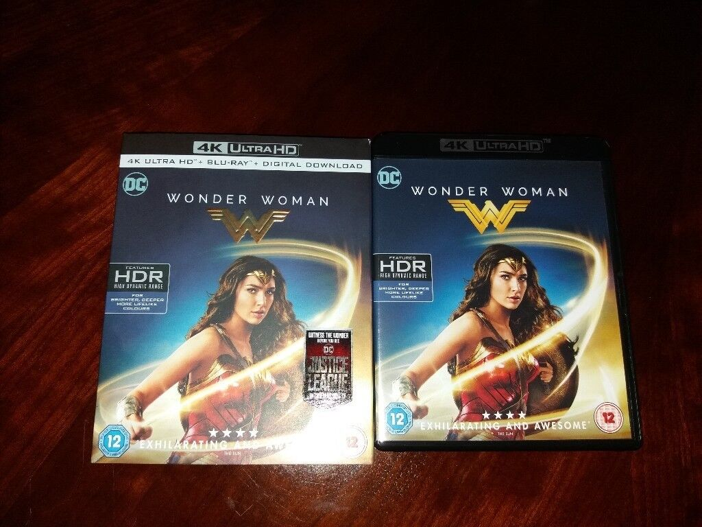 Wonder Woman 4k Bluray