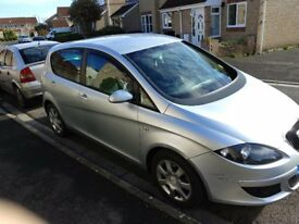 Seat Altea 1.9 TDI New fly wheel clutch front tyres susp. Arms