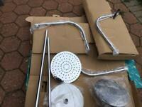 Vado shower head x 3 and various connection pipes for sale  New Rossington, South Yorkshire