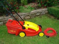 Wolf lawnmower in excellent condition