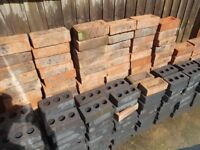 160 reclaimed red bricks 1st 140 engendering bricks