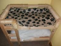 Cat bunk beds solid handmade