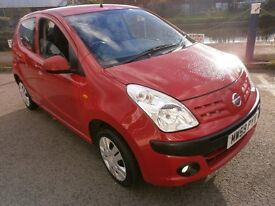 2010 NISSAN PIXO 1.0 N-TEC 5DOOR,HPI CLEAR, SERVICE HISTORY, ONE OWNER FROM, ROAD TAX ONLY £20 YEAR