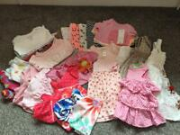 Girls Bundle of Clothes 3-6 month