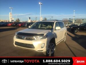 2013 Toyota Highlander Hybrid 4WD 4dr Limited - FULLY LOADED! HY