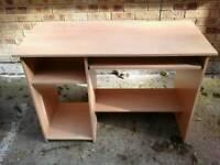 Light coloured wood Desk