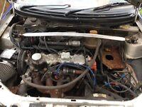 Vauxhall 2.0 8v engine corsa conversion