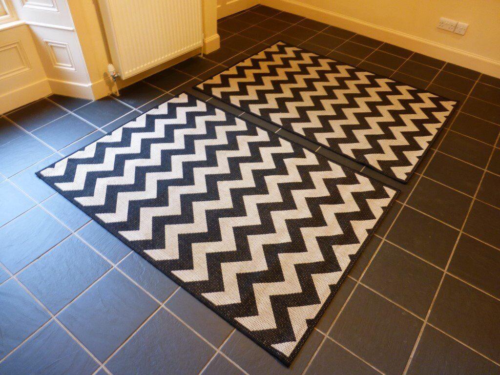 Flatweave Zigzag Rugs From Homebase