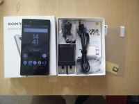 Sony Xperia Z5 Black 32GB Mint condition boxed