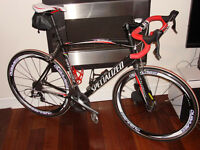 Road Bike - Specialized Allez Elite - excellent condition with Ultegra upgrades - for sale (58cm/L)