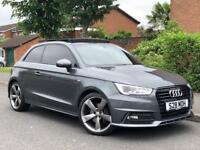 Audi A1 1.6 Tdi S Line Pan Roof Facelifted Heated Seats Bose Px Swaps