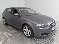 2008(08)AUDI A3 1.9 TDi E MET GREY,BIG MPG,£3O TAX,CLEAN CAR,GREAT VALUE