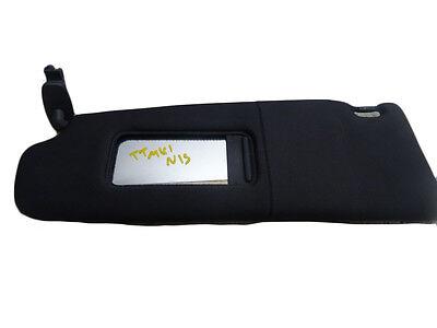 *AUDI TT MK1 8N COUPE 99-06 DARK GREY PASSENGER/NEARSIDE SUN VISOR WITH LOOM
