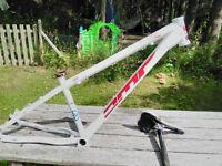"""DMR exalt 14"""" mtn bike frame"""