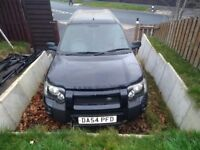 Landrover freelander V6 auto SPARES OR REPAIRS