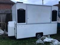Catering trailer/burger wagon