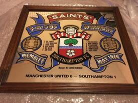 Saints 1976 fa cup winners mirror