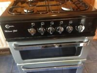 Gas cooker silver Milano......Mint free Delivery