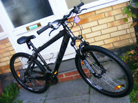 "SCOTT JUMP BIKE 26"" WHEEL 16"" ALUMINIUM FRAME IN GREAT WORKING ORDER"