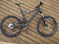 Cube Stereo HPA 2011 MTB Full Suspension Fox Forks 1x10 Mountain Bike XTR