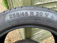 Winter Car Tyres - Continental Winter Contact 255/45 R20 V