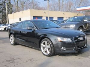 2010 Audi A5 3.2L (Tiptronic)/112KM/MOONROOF/LEATHER/AUTO!!AWD