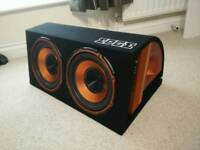1800w Edge twin sub (built in amp)