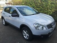 Silver Nissan Qashqai 2008 in good condition